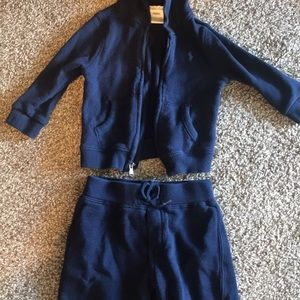 9 month baby boys Ralph Lauren sweatsuit